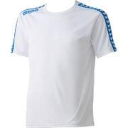 ARN6331-WHT-L [チームラインTシャツ ユニセックス Lサイズ ホワイト]