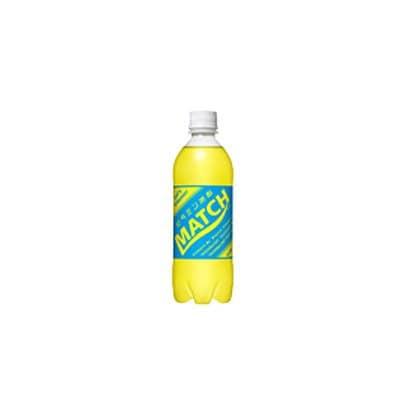 マッチ 500ml×24本 [炭酸飲料水]