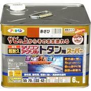 油性超耐久 シリコンアクリルトタン用スーパー 赤さび [6kg]