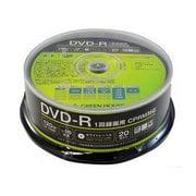 GH-DVDRCA20 [DVD-R CPRM 録画用 1-16倍速 20枚スピンドル]