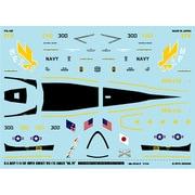 F/A-18E スーパーホーネット VFA-115 イーグルス 「NO.76」 [1/144 アシタのデカール]