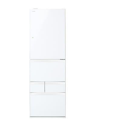 GR-K41GXV(ZW) [VEGETA(ベジータ) 冷凍冷蔵庫(410L・右開き) 5ドア クリアシェルホワイト]