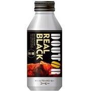 ドトールコーヒー レアルブラック ボトル缶 400g×24 [コーヒー飲料]