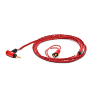 Palette8 MX-A BAL CrimsonRed [MMCXイヤホン用リケーブル]