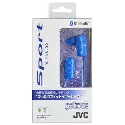 HA-EB10BT-A [Bluetooth スポーツヘッドホン ブルー]