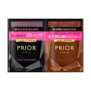 PRIOR(プリオール) シャンプー&カラーコンディショナー 1DAYトライアルセット N ブラウン(自然な茶色) [トライアルセット]