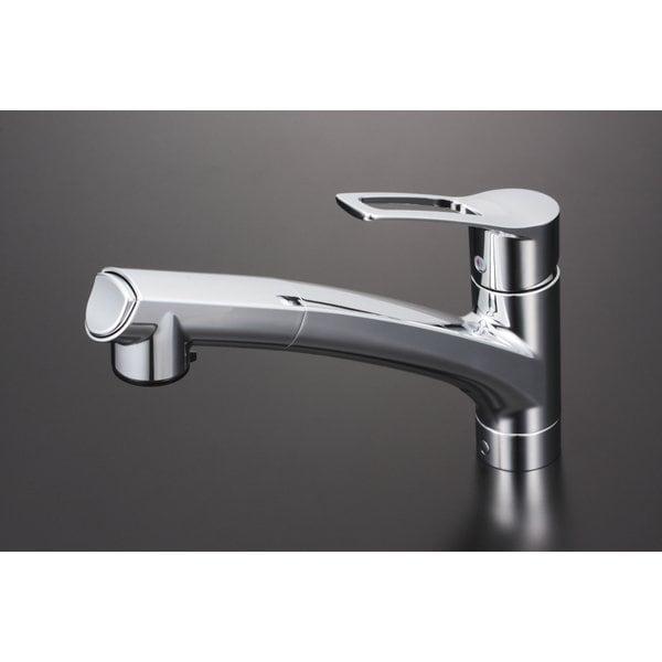 KVK KM5021ZJT 寒 流し台シャワー混合栓 [浴室・洗面用品その他]