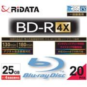 BD-R130PW 4×.20P SC C [録画用BD-R スリムケース 25GB 4倍速 インクジェットプリンタ対応 20枚]