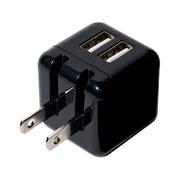 IPA-US01/BK [USB-ACアダプタ 2.4Aタイプ 黒]