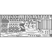 5105 [1/700スケール ウォターラインシリーズ 英国海軍航空母艦 イラストリアス エッチングパーツセット]