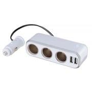 FIZZ-939 [イルミソケットS3 USB4.8A 12V車専用 iPhone 6/6 Plus対応]