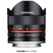 SAMYANG (サムヤン) 8mm F2.8 UMC Fish-eye II フジフィルムX用 ブラック