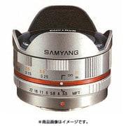 SAMYANG (サムヤン) 7.5mm/F3.5 FISH-EYE マイクロフォーサーズ用 シルバー