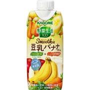 野菜生活100 Smoothie 豆乳バナナMix 330ml×12本 [野菜果汁飲料]