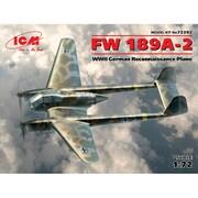 72292 [1/72スケール エアクラフトシリーズ フォッケウルフ Fw189A-2]