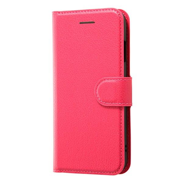 RT-P12ELC1/P [iPhone 7用 4.7インチ ケース 手帳型ケース シンプル マグネット ピンク]