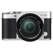 FUJIFILM X-A3/XC16-50mm F3.5-5.6 OIS II レンズキット シルバー [ミラーレスカメラ ボディ(シルバー)+交換レンズ XC16-50mm F3.5-5.6]
