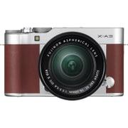FUJIFILM X-A3/XC16-50mm F3.5-5.6 OIS II レンズキット ブラウン [ミラーレスカメラ ボディ(ブラウン)+交換レンズ XC16-50mm F3.5-5.6]