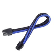 SST-PP07-IDE6BA [EXT.CABLE PCIE 6pin BLACK&BLUE]