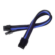 SST-PP07-PCIBA [EXT.CABLE PCIE 6+2pin BLACK&BLUE]