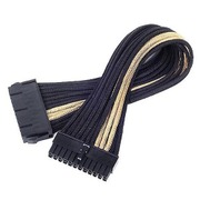 SST-PP07-MBBG [EXT.CABLE M/B 24pin BLACK&GOLD]