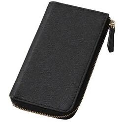 8d3bae22bb ヨドバシ.com - Deff ディーフ DCS-IP7PRZBK [iPhone 7 Plus ケース ROUND ZIP CASE ブラック]  通販【全品無料配達】