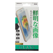 OWL-TGSIP7-CL3 [iPhone 8/7 液晶保護強化ガラス 0.33mm厚 硬度9H クリア]