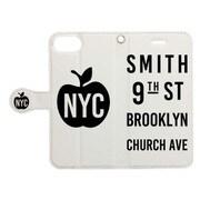 手帳ケース NEW YORK CITY ソノ3WH [iPhone 7用 4.7インチ]