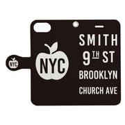 手帳ケース NEW YORK CITY ソノ3BK [iPhone 7用 4.7インチ]