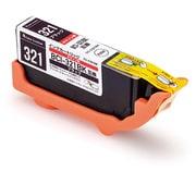 CC-C321BLK [CANON BCI-321BK互換インク 使い切りタイプ ブラック]