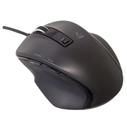 MUS-UKF120BK [BlueLED 有線マウス Z 5ボタン Sサイズ ブラック]
