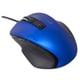 MUS-UKF120BL [BlueLED 有線マウス Z 5ボタン Sサイズ ブルー]