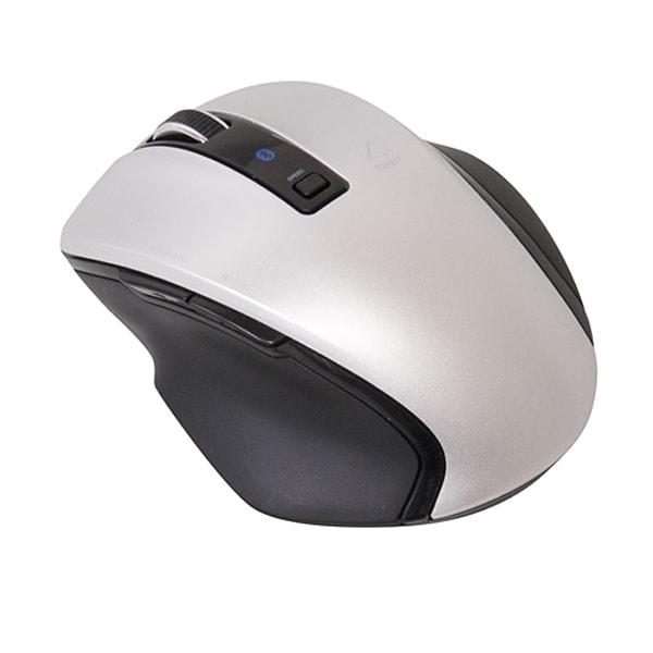 MUS-BKF121SL [BlueLED Bluetoothマウス Z 5ボタン Sサイズ シルバー]