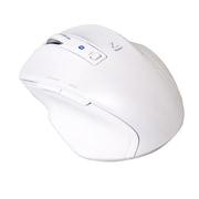 MUS-BKF121W [BlueLED Bluetoothマウス Z 5ボタン Sサイズ ホワイト]