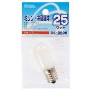 LB-T2725-F [白熱電球 ミシン・冷蔵庫球 E17口金 110V 25W フロスト]