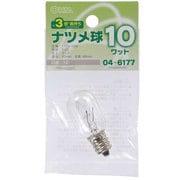 LB-T0210-CLL [白熱電球 ナツメ球 110V E12口金 10W クリア]