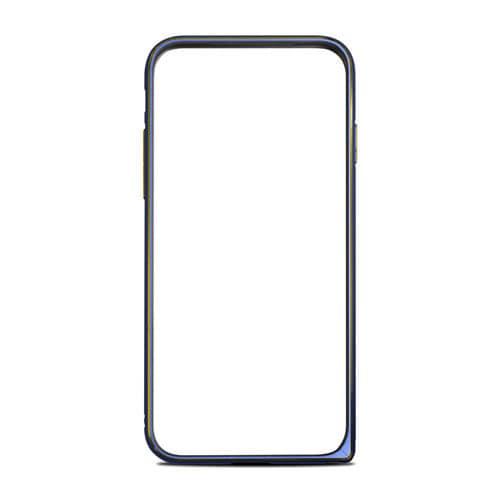 RK-AUC01B [iPhone 7用 Alminum Bumper 超軽量アルミバンパー ブルー]