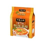 中華三昧 赤坂榮林 酸辣湯麺 3食パック [103g×3食]