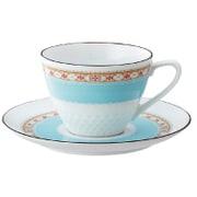 T5389L/1645 [ハミングブルー ティー・コーヒー碗皿]