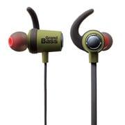 LBT-HPC40MPGN [Bluetooth ワイヤレスステレオイヤホン GrandBass wireless グリーン]