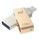 ICMINVGD-128 [PQI iConnect mini Lightning対応 USB3.0メモリー 128GB ゴールド]
