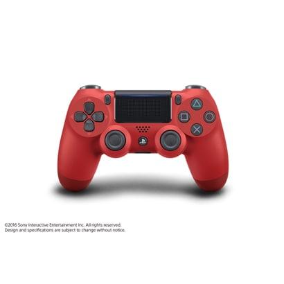 プレイステーション4 ワイヤレスコントローラー DualShock 4 マグマ・レッド [CUH-ZCT2J11]