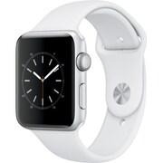 Apple Watch Series 2 - 42mmシルバーアルミニウムケースとホワイトスポーツバンド