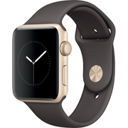 Apple Watch Series 2 - 42mmゴールドアルミニウムケースとココアスポーツバンド