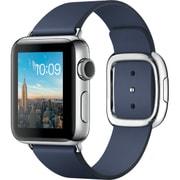 Apple Watch Series 2 - 38mmステンレススチールケースとミッドナイトブルーモダンバックル - L
