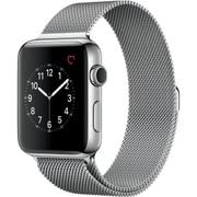 Apple Watch Series 2 - 42mmステンレススチールケースとシルバーミラネーゼループ