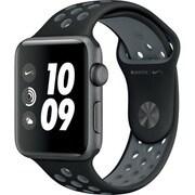 Apple Watch Nike+ - 42mmスペースグレイアルミニウムケースとブラック/クールグレーNikeスポーツバンド
