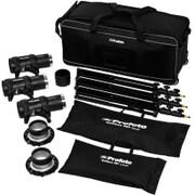 901019 D1 500/500/1000 Air Studio Kit [モノライト・ストロボ 2灯セット アクセサリー付]