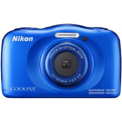 COOLPIX W100 ブルー [コンパクトデジタルカメラ]