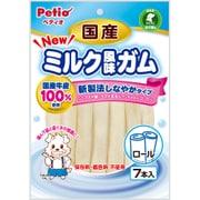 ペティオ NEW 国産 ミルク風味ガム ロール [犬用スナック 1歳~ 7本入]